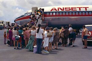 Ansett Airlines pick up. When Will the Birds Return, 1975
