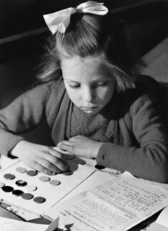 Button book. School in the Mailbox, 1946.