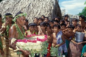 Ceremony. Solomon Islands, 1979.