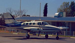 Cessna 401A plane. Voice to be Heard, A. 1974.