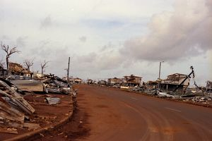 Cyclone Tracy destruction. When Will the Birds Return?, 1975