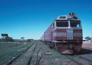 The Ghan. Ghan to Alice, 1978.