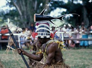 Half shark headdress. Solomon Islands, 1979.