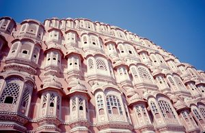 Hawa Mahal palace in Jaipur. Our Asian Neighbours - India
