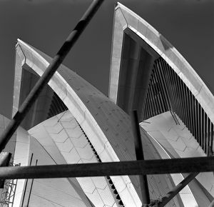 Sydney Opera House Sails. Fifth Facade, 1973