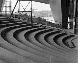Sydney Opera House Theatre Foyer. Fifth Facade, 1973