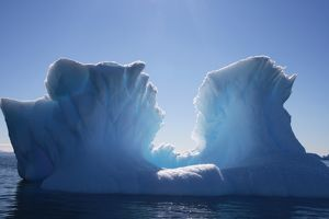 Iceberg formation. Mawson - Life and Death in Antarctica, 2008