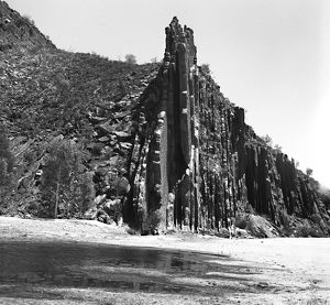 Standley Chasm, Alice Springs. Around Australia, 1962